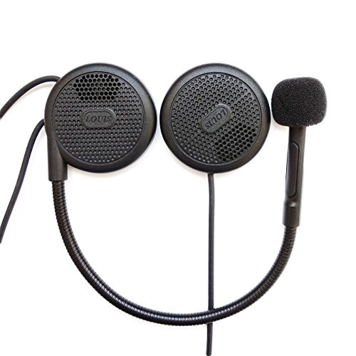 NikoMaku Motorcycle Bluetooth Headset Helmet Headphones Bluetooth Helmet Speakers Earphone Intercom for Helmets Wireless Headphones with Microphone Sound System for Motorcycle 0.27'' Silm