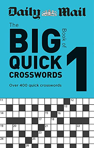 Daily Mail Big Book of Quick Crosswords Volume 1 (The Daily Mail Puzzle Books, Band 120)