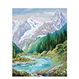 JHGJHK Arte Abstracto Paisaje Pintura al óleo Pintura de Paisaje Sala de Estar Dormitorio decoración Pintura