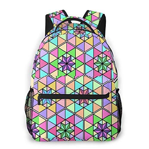 Julie Alcott Japanese Symbol Laptop Schoolbag Casual Super Durable Backpack Lightweight Travel Sports Backpack Unisex