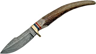 SZCO Supplies Stag Grip Hunting Knife