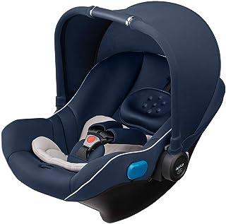 Aprica(アップリカ) シートベルト固定 新生児から使える チャイルドシート ベビーチェア トラベルシステム スムーヴ TS インファント カーシート ネイビー 0か月~ (1年保証) 2079008