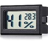 Mini Hygrometer Thermometer Hygrometer LCD Monitor Feuchtigkeit Temperatur Gauge Feuchtigkeit Gauge Indikator Zimmer Thermometer für Gewächshaus,...