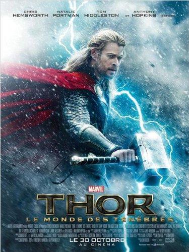 Affiche Cinéma Préventive Grand Format - Thor : Le Monde Des Ténèbres (format 120 x 160 cm pliée)