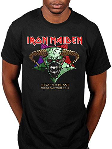 AWDIP Oficial Iron Maiden Legacy of The Beast Tour T - Shirt