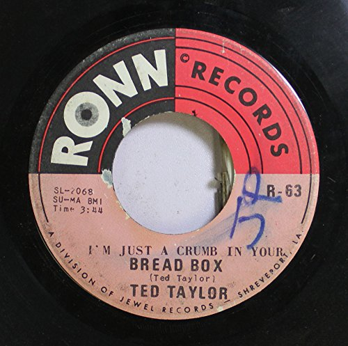 TED TAYLOR 45 RPM BREAD BOX / HOUSTON TOWN