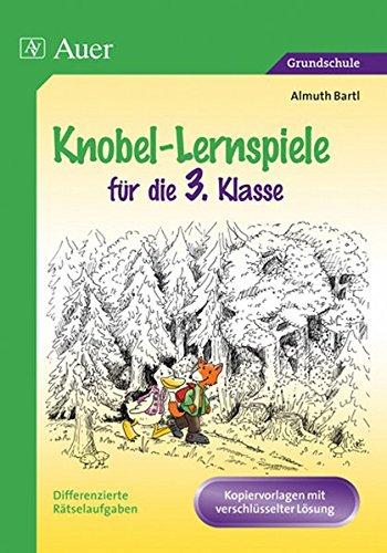 Knobel-Lernspiele für die 3. Klasse: Differenzierte Rätselaufgaben