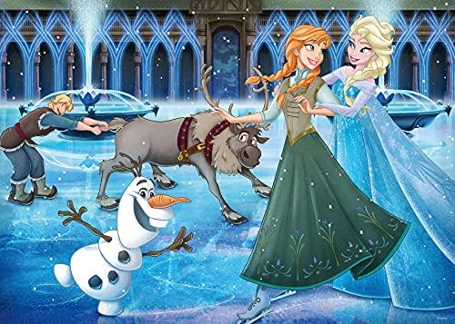 Ravensburger Puzzle 16488 - Disney Frozen - 1000 Teile Puzzle für Erwachsene und Kinder ab 14 Jahren, Disney Puzzle mit Anna und Elsa
