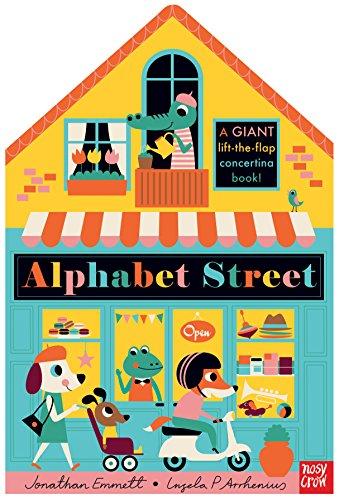 Alphabet Street: A Giant Lift-the-Flap Concertina Book!