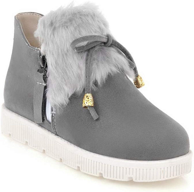 1TO9 Womens Fringed Novelty Fashion Urethane Boots MNS02711