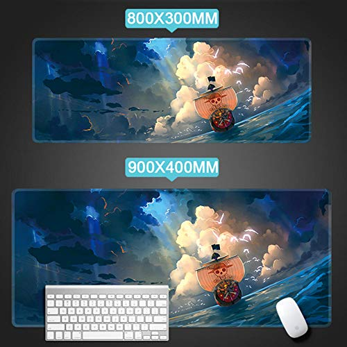 FACQ Alfombrilla De Ratón Chopper Padmouse Pad Mouse Big Notbook Computer Mousepad One Piece Gaming Mouse Pads Gamer Keyboard Mouse Mouse Mat