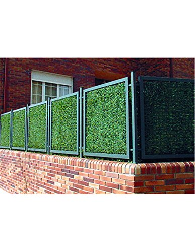 Faura 1x3m - Seto Artificial Estandar 90 Varillas - Hoja Ancha