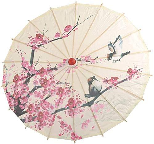 Papel de 23 pulgadas, MATRO, sombrilla artificial, paraguas artificial, artificial, se utiliza en la ropa de rendimiento de la danza clásica,A