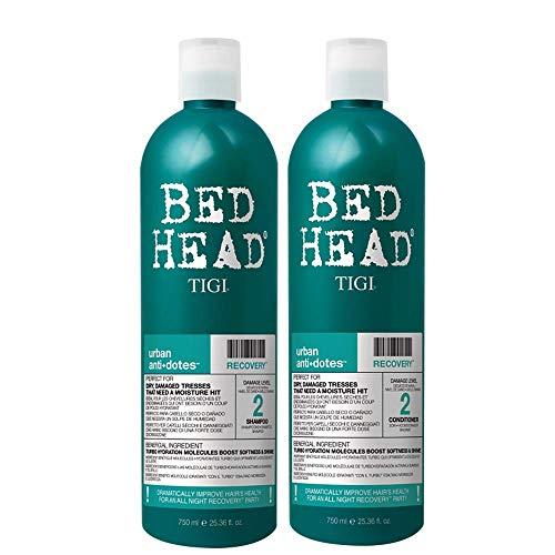 TIGI Bed Head Urban Anti+Dotes Recovery Level 2 Shampoo & Conditioner per Capelli Idratati - 1500 g