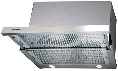 Nodor Campana extractora 1709, 90 cm, iluminación LED ECO