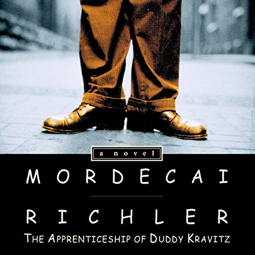 The Apprenticeship of Duddy Kravitz audiobook cover art