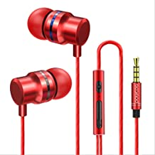 Comfortable in Ear Earphone with HD Microphone and Upgrade Noise Reduction Function Headphone