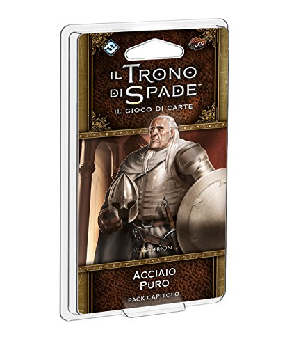 Asmodee 9206 - Gioco Il Trono di Spade Lcg: Acciaio Puro