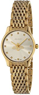 Gucci G-Timeless Black Dial Stainless Steel Women's Watch
