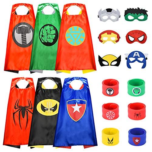 BOXYUEIN Spielzeug ab 3-12 Jahre Junge, Kostüm Kinder Kinderspielzeug ab 3-12 Jahre Kinder Spielzeug Jungen Geschenk Junge 3-12 Jahre Mädchen Spielzeug Superhelden Halloween Kostüm Kindergeburtstag