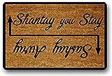Solatman Sashay Away Shantay You Stay RuPaul's Drag Race - Felpudo divertido para la inauguración de la casa, regalo de bienvenida para Drag Race RuPaul 40 x 60 cm