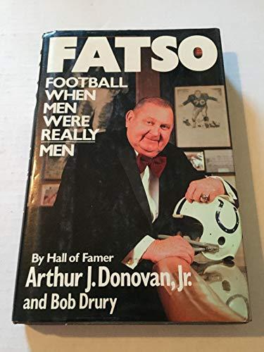 Download Fatso: Football When Men Were Really Men 0688073409