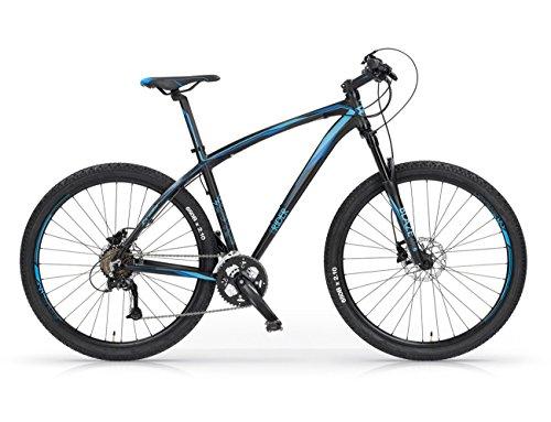 MBM Twuentyseven.Five, Bicicletta Ibrida Unisex Bambini, Blu A03, 52