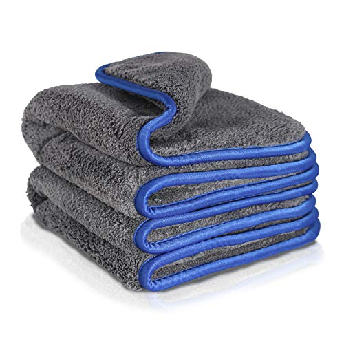 2 x Premium Microfibre Cloths with Great Absorbency of 1200 GSM; The car Microfibre Cloth is Therefore Perfect as a Dry Cloth; The car polishing Cloth is Soft for polishing