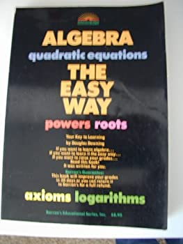 Paperback Algebra the Easy Way Book