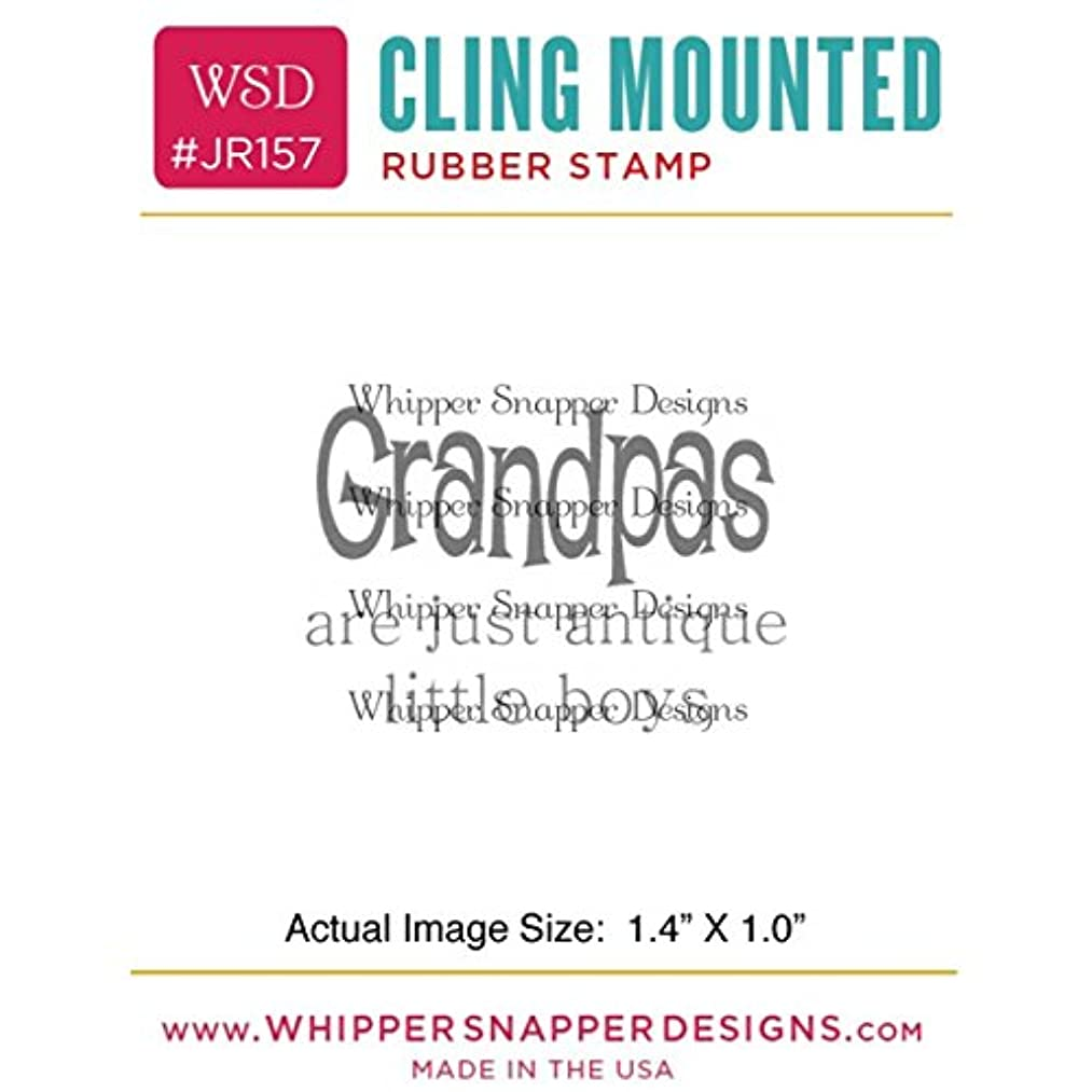 Whipper Snapper Designs Little Boys Cling Stamp, 2.5