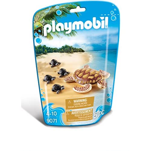 Playmobil 9071 - Tartaruga con Cuccioli