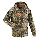 Guide Gear Men's Silent Adrenaline II Insulated Hunting Jacket, Mossy Oak Break-Up Country, Large
