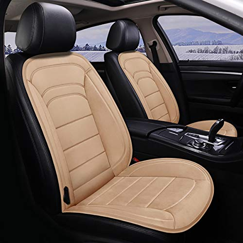 Heated Car Seat Cover, 12V Heated Seat Cushion, Soft Comfortable Car Seat Warmer Pad, Best Birthday Gifts for Him