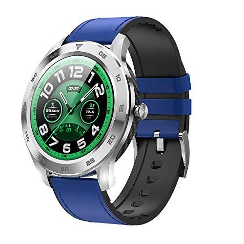 HQHOME Smartwatch Fitness Tracker Fitness Armband Fitness Uhr Schrittzähler Pulsmesser Herzfrequenzgerät Schlafmonitor IP68 Wasserdicht Fitness Tracker mit Blutdruckmessung für Damen Herren
