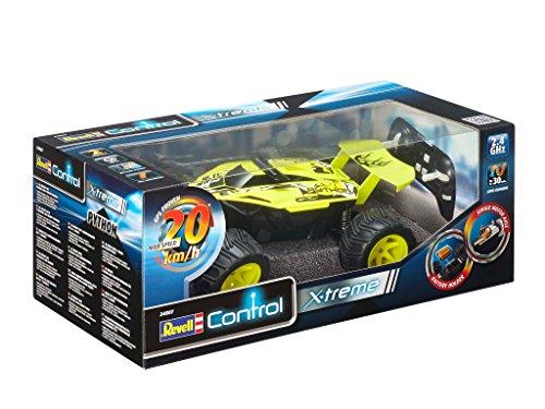 RC Auto kaufen Buggy Bild 6: Revell Control X-treme RC Car - schnelles, sehr robustes ferngesteuertes Auto als Buggy mit 2,4 GHz Fernsteuerung, Batterienbetrieben - Akku kann nachgerüstet werden - PYTHON 24807*