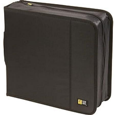 Case Logic CD/DVDW-208 224 Capacity Classic CD/DVD Wallet (Black)
