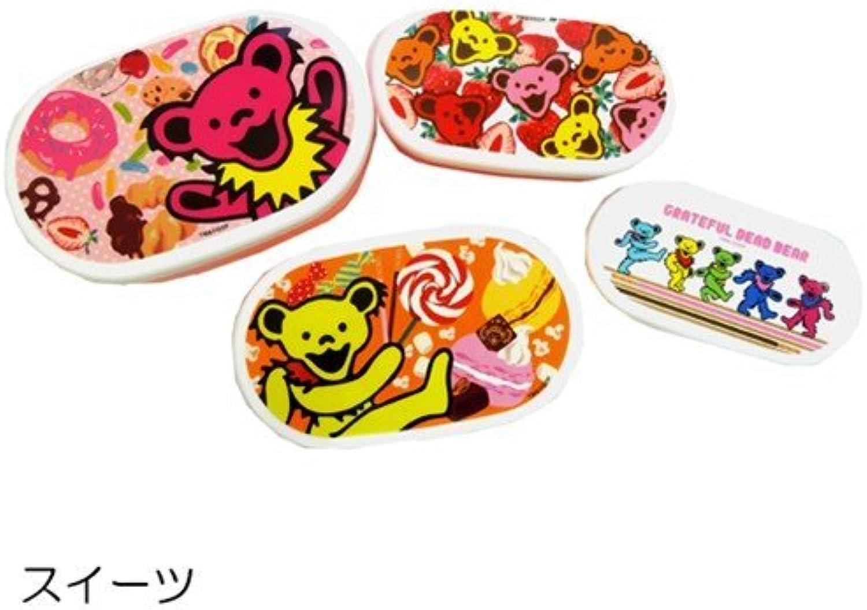 4P lunch box Grateful Dead Bear Suites (japan import)