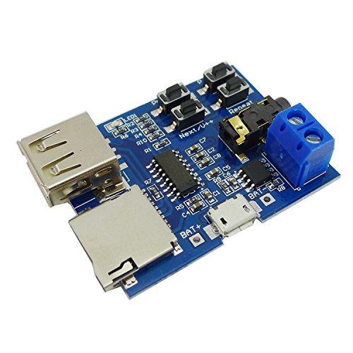 『KKHMF TFカード Uディスク Mp3デコーダ モジュール デコーダボード 無損失デコード 増幅器』の2枚目の画像