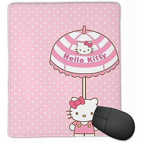 Mouse Pad Hello Kitty met paraplu Computer Mouse Mat