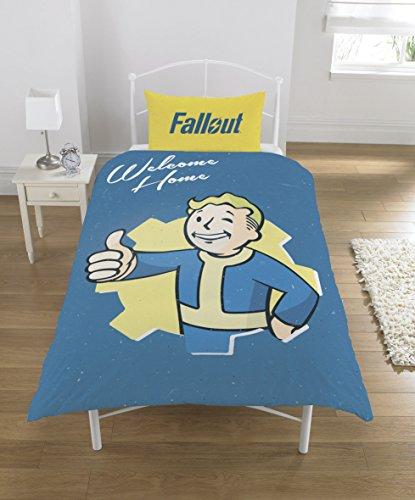 FALLOUT Bettwäsche-Set, Polycotton, Mehrfarbig, Einzelbett