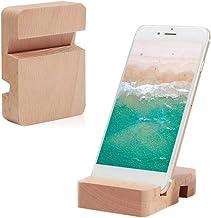 Amazon.es: soporte para movil madera