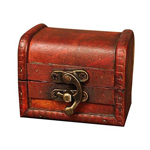 Rubyu - Caja de Regalo de Madera Vintage, Caja para Cupcakes, Caja de Regalo, artesanía, Boda, Fiesta, decoración de Mesa