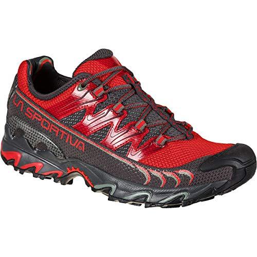 LA SPORTIVA Ultra Raptor, Zapatillas de Trail Running Hombre, Goji/Carbon, 44.5 EU