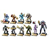 Mega Construx Halo Heroes Bundle Series 10 Complete Set of 10 Figures