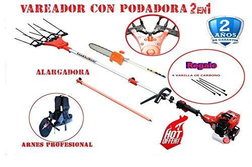 BRACOG- Vareador Aceituna con podadora de Gasolina HJV0034