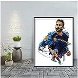 UpperPin Adil Rami Leinwand Kunst für Wohnzimmer Poster