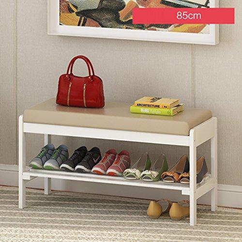 LITINGMEI Shelf LT Haushalts-Regal-Speicher-Schuh-Racks Moderne mehrstöckige hölzerne Regale 85cm (Farbe : D)