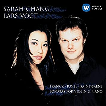 Franck, Ravel & Saint-Saens: Sonatas for Violin & Piano