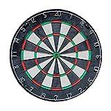 Exact Panneaux de fléchettes pour Adultes Pro Dart Board pour Pointe en Acier Darts 18 Pouces DARTLE/SISAL TOURNOIRE DARTOOK avec STRAPLE Gratuit SPIDATEUR Ultra MINIGRAPHE STRAPLE STRAPTAIRE DARTOA