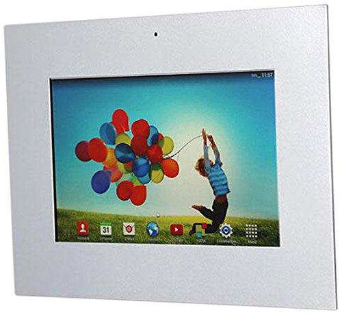 TabLines TWE002S Tablet Wandeinbau für Samsung Tab 4 10.1, silber